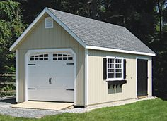 How To Build A Detached Garage For The Home Pinterest