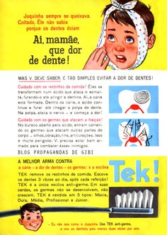 Escovas Tek (1962)