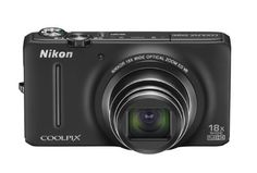 Nikon COOLPIX S9200 16 MP CMOS Digital Camera with 18x Zoom NIKKOR ED Glass Lens and Full HD 1080p Video (Black) by Nikon. $149.00. From the Manufacturer                       Power and portability blend perfectly into the COOLPIX S9200. Photograph everything from the nightlife in Cancun to the vibrant details of a flower market with the S9200's 18x wide-angle zoom. Create stunning low-light photos without a flash, thanks to its 16.0 megapixel CMOS sensor. Shoo...