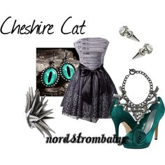 A fashion look from February 2012 featuring rsvp pumps and JFR rings. Browse and shop related looks.