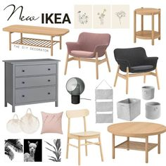 If you are still a Scandi lover, the newest range will tick all your boxes 🙌 I'm a little in love with that coffee and side… Ikea Decor, Diy Bedroom Decor, Ikea Furniture Hacks, Home Furniture, Ikea Design, Ikea Home, Diy Home Improvement, Home Hacks, My Living Room