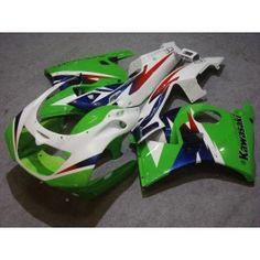 Kawasaki NINJA ZXR250 1993-1996 ABS Fairing - Others - Green/White | $589.00