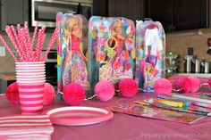 Barbie and the Secret Door Party Setup