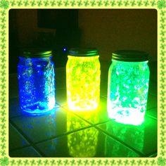 Glow jars...kids loved this!