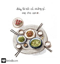 New eye ilustration design artists ideas Food Graphic Design, Food Design, Watercolor Food, Food Painting, Food Drawing, Vietnamese Recipes, Food Illustrations, Cute Food, Food Art