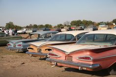 "500 ""new"" vintage cars to be sold at Nebraska auction"
