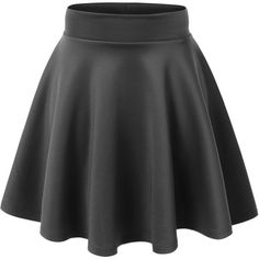 MBJ WB669 Womens Basic Versatile Strechy Flare Skater Skirt S EGGPLANT... (225 ARS) ❤ liked on Polyvore featuring skirts, bottoms, b o t t o m s, flared skirt, flared hem skirt, circle skirt, skater skirts and flare skirts