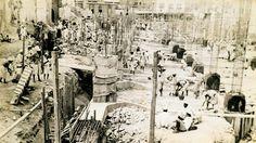 ارشيف توسعة الملك عبدالعزيز للمسجد النبوي الشريف #المدينة_المنورة 1951