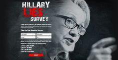 Stop Hillary Microsite.