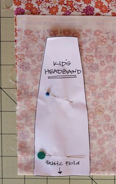 DIY Headbands step-1
