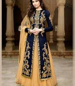Buy navy blue net embroidered semi stitiched salwar with dupatta navy-blue-net-embroidered-semi-stitiched-salwar-with-dupatta-anarkali-salwar-kameez--2 online