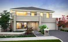 The Sonoma | Webb & Brown Neaves Love it! Dream house. Hampton style. $530 000 My House Plans, Modern House Plans, Modern House Design, Double Story House, Storey Homes, Modern Mansion, Hampton Style, Facade House, Bungalows
