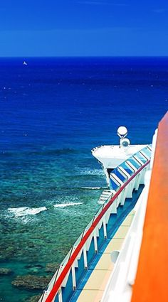 Explorer of the Seas | Exceptional views appear around every corner on adventures to the Royal Caribbean. Photo by Sabrina F.