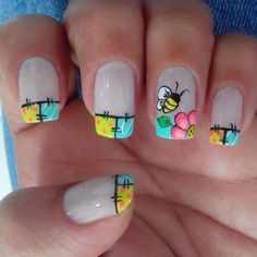 New Ideas For Fails Design Crazy Beauty Gel Nail Art, Manicure And Pedicure, Gel Nails, Acrylic Nails, Crazy Nail Art, Crazy Nails, Nail Polish Designs, Cool Nail Designs, Spring Nails