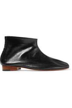Martiniano - Leone Leather Ankle Boots - Black - IT36.5