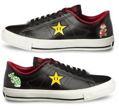 216ea0c080af9a CONVERSE ONE STAR SUPER MARIO BROS SC LOW Black US8 5 EMS Free shipping