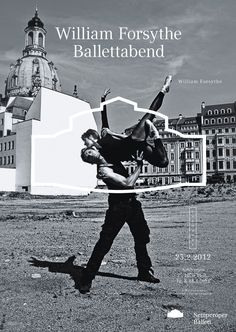 Semperoper Ballett. Fons Hickmann m23 designed a posterseries for the the Semperoper Ballet.