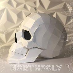 Halloween Patterns, Halloween Crafts, Hacker Logo, Paper Art, Paper Crafts, Diy Origami, Oragami, Polygon Art, Paper Models