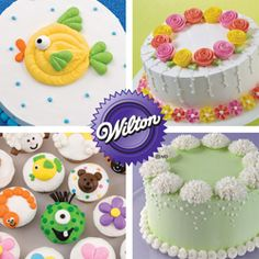 Interested in cake decorating, but don't know where to start? The Wilton Method of Cake Decorating will teach you all of the techniques to make treats that will amaze your friends and family — even if you've never decorated before! Learn more about Course 1: Decorating Basics and find a class near you! http://www.wilton.com/classes/decorating-basics.cfm