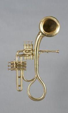 Contra alto saxhoorn - (Sax 1869) --- https://www.pinterest.com/lardyfatboy/