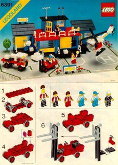 City - Cargo Center [Lego 6391]