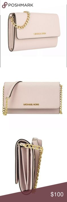 ffc2334953e3 Authentic MICHAEL KORS Crossbody NWT MICHAEL MICHAEL KORS comes with gift  receipt Jet Set Travel Large