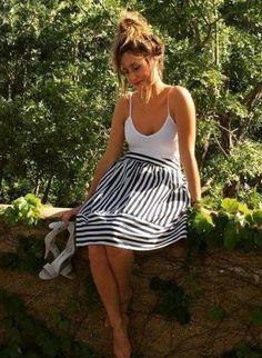 High Seas Skirt by Maeve #anthrofave