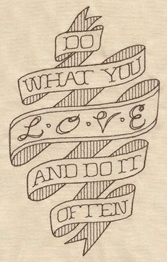 "Embroidery Designs at Urban Threads - ""Do What You Love and Do It Often"""