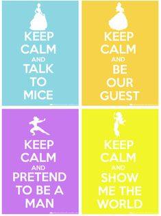 keep calm aaaannnndd... Printables perfect as a filler card for Disney Project Life or Pocket scrapooking. Print it out, use digitally, or download to your phone to use in the Project Life app. See more info: http://capturingmagic.me/DisneyProjectLife