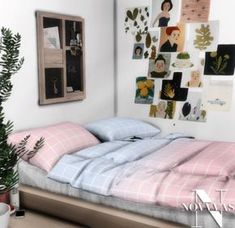 KALEHOUSE BEDDING for The Sims 4 by Novvvas