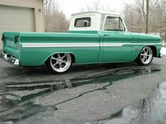 Page How about some pics of Trucks The 1960 - 1966 Chevrolet & GMC Pickups Message Board 1966 Chevy Truck, Chevy C10, Chevy Pickups, Chevrolet Trucks, Lifted Chevy, Lowered Trucks, C10 Trucks, Hot Rod Trucks, Lowrider Trucks