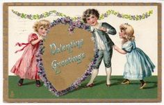 A Raphael Tuck Valentine Postcard Sentiment @ Vintage Touch $5.00