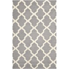 View all Rugs - Colour: Grey-White, Shape: Rectangular | Wayfair UK