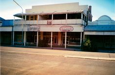The old Kidman's Butchery building in Argent Street, Broken Hill, NSW Historical Pictures, Australia Travel, My Dream, Old Things, Dreams, Live, Street, Building, Places