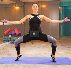 This intense barre class will leave you sore (in a good way).