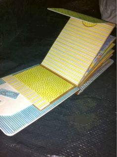Long Envelope Mini-Album (tutorial on Follow the Paper Trail)