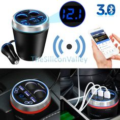 2017 Sale Tf / For Mp3 Bluetooth Car Kit Handsfree Fm Transmitter Wireless Player Port Lighter Adapter Shunt 3 Usb Charger