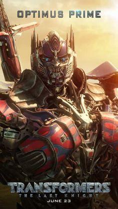 Transformers Optimus Prime Motion Poster