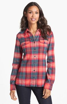 Patagonia 'Fjord' Flannel Shirt available at #Nordstrom