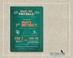 Kids Printable Birthday Invitation