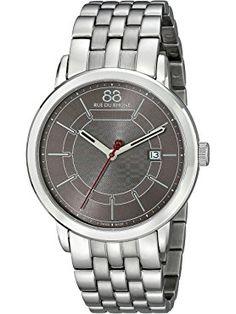 88 Rue du Rhone Men's 87WA140025 Analog Display Swiss Quartz Silver Watch ❤ 88 Rue du Rhone MFG Swiss Made Watches, Rhone, Men, Guys