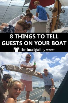 Calypso Guest Checklist The Boat Galley is part of information-technology - Guests invited aboard might hope they're headed for a cruise ship this welcome email helps them reality check their expectations Sailboat Living, Living On A Boat, Patagonia, E Boat, Sailing Lessons, Royal Cruise, Power Catamaran, Boating Tips, Power Boats For Sale
