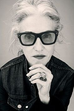 """Linda Rodin - Style Icon. """"My advice is to just be yourself and follow your instincts. Use your knowledge and history to understand how to use your own story to create something new""""."""