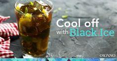 Beat the summer heat! Enjoy Organo Black Iced Tea at: www.hillhealthycafe.myorganogold.com