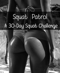30-day squat challenge using different squat variations, not just increasing reps