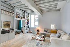 Apartamento contemporáneo en París