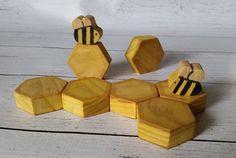 Waldorf hout honingbij spelen set