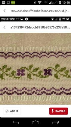 This Pin was discovered by Rem Cross Stitch Bookmarks, Cross Stitch Bird, Cross Stitch Borders, Cross Stitch Flowers, Cross Stitch Designs, Cross Stitching, Cross Stitch Embroidery, Hand Embroidery, Cross Stitch Patterns