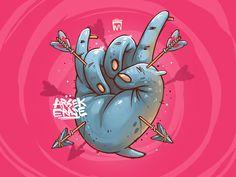 Rock by  Georgi Dimitrov Erase #Design Popular #Dribbble #shots