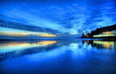 ***Dawn at Burleigh Heads Surf Club (Gold Coast, Australia) by Sergio Amiti